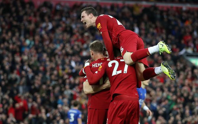 Võidukas Liverpooli meeskond