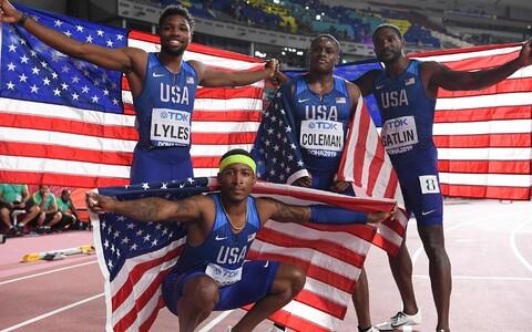 USA meeste 4x100 m teatenelik