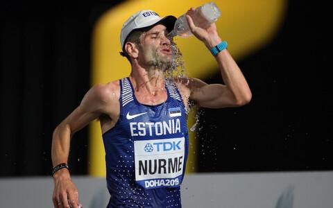 Tiidrek Nurme Doha MM-il.