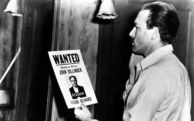 John Dillingerist on tehtud arvukalt filme. Kaader 1945. aastal valminud linateosest.
