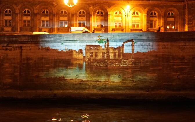 Kunstiprojekt Eesti vaated Seine'i kallastel