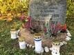 Kalju Lepiku kodukohta paigutatud mälestuskivi.