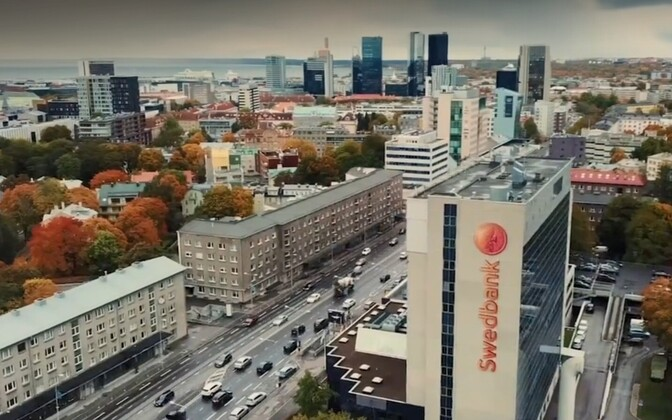 Swedbank's head office in Tallinn.