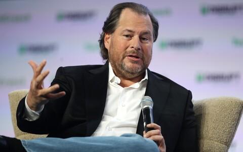 Ettevõtte Salesforce asutaja ja juht Marc Benioff.