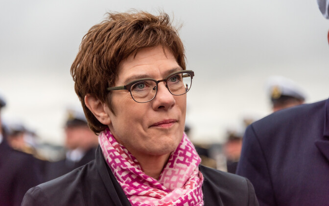 German Minister of Defense Annegret Kramp-Karrenbauer