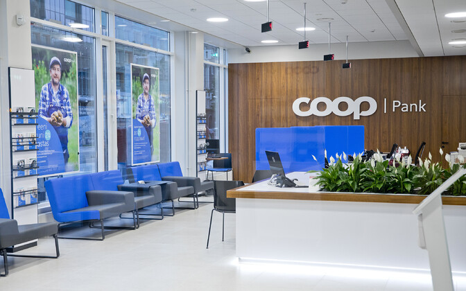 A Coop Pank branch.