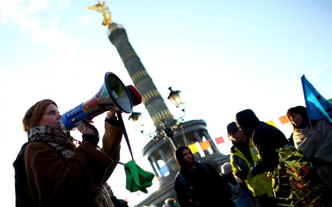 Активисты из движения Extinction Rebellion.