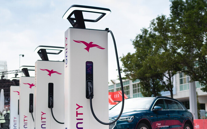 IONITY EV rapid chargers