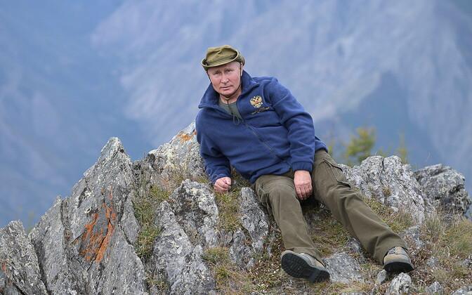 Vladimir Putin oma 67. sünnipäeva matkal