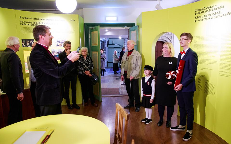 """Näituse """"Tallinna Toomkool – Eestimaa hariduse nurgakivi"""" avamine."""