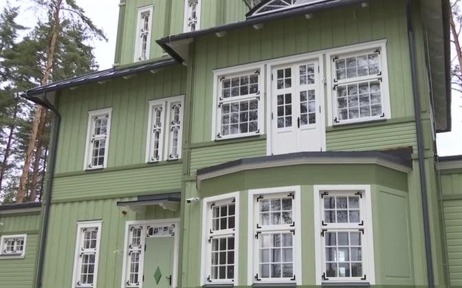 С годами резиденция генерала Реэка утратила свой первоначальный облик.