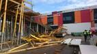 Õnnetus Jõhvi bussijaama ehitusel.