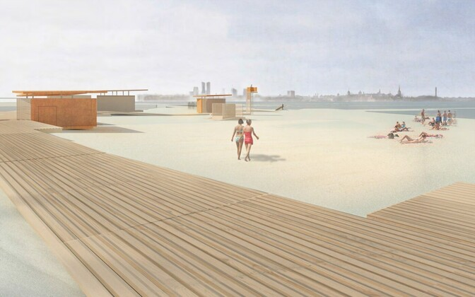 A possible future for Pirita beach.