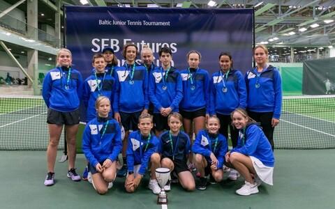 Eesti tennisekoondis Balti matšil