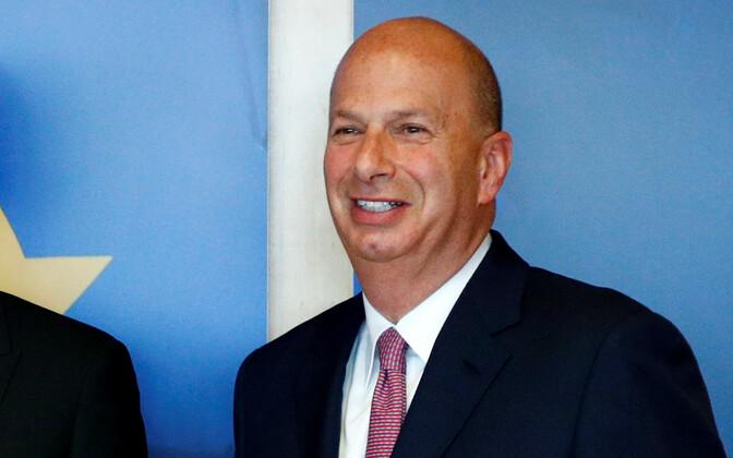 USA suursaadik Euroopa Liidu juures Gordon Sondland.