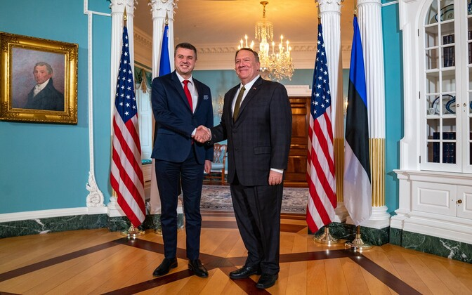 Foreign Minister Urmas Reinsalu and Secretary of State Mike Pompeo met in Washington.