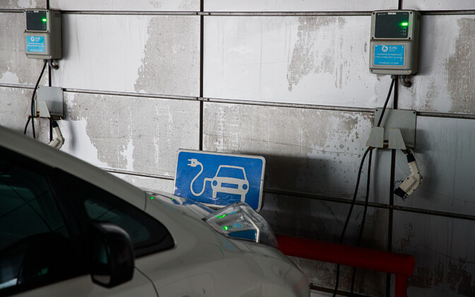Electric car charging. Photo is illustrative.