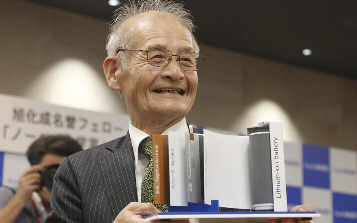 Nobeli keemiapreemia võitsid sel aastal John B. Goodenough, M. Stanley Whittingham ja Akira Yoshino (pildil).
