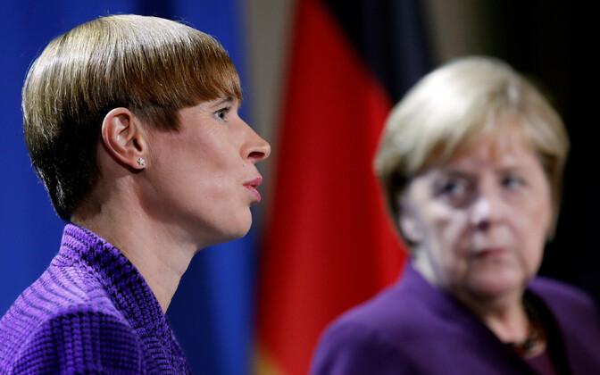 Kersti Kaljulaid ja Angela Merkel
