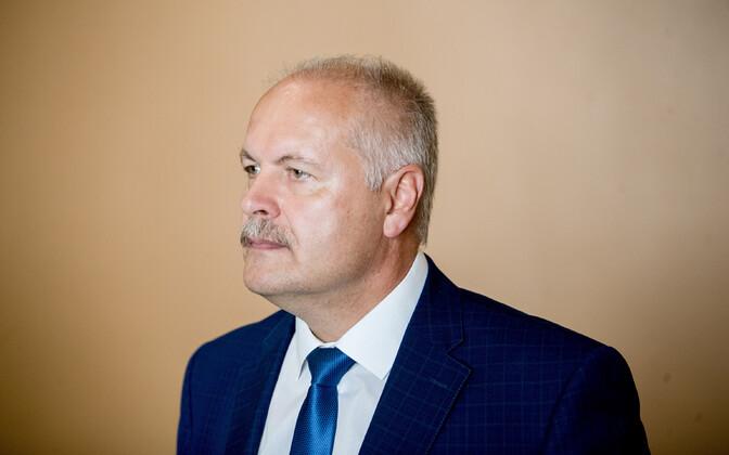 Riigikogu esimees Henn Põlluaas.