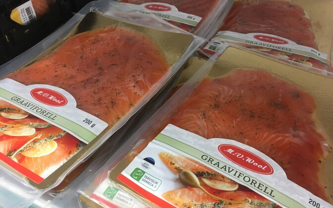 The M.V.Wool trout gravlax which has been recalled.