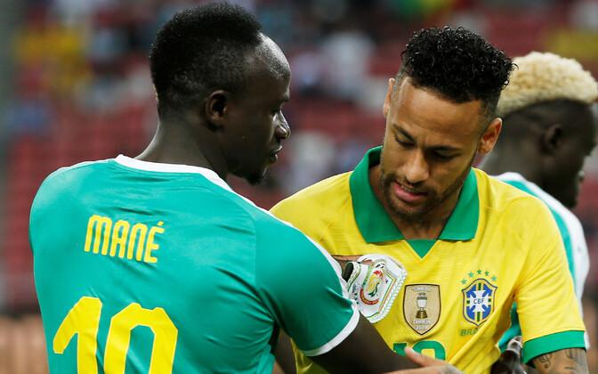 Sadio Mane ja Neymar