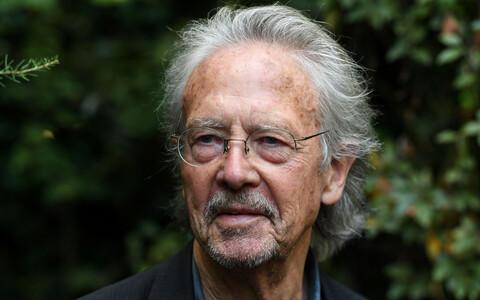 Austria kirjanik Peter Handke.