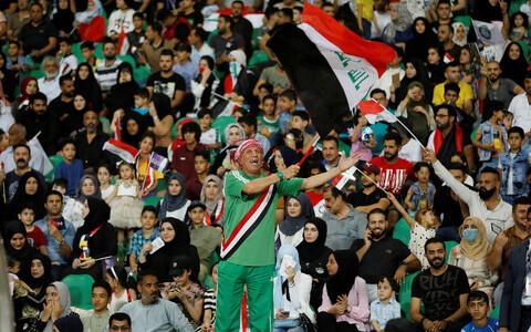Iraagi jalgpallifännid