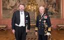 Eesti suursaadik Rootsis Margus Kolga andis üle volikirja Rootsi kuningas Carl XVI Gustafvile.