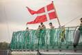 В Таллинн прибыли военные корабли противоминной группы НАТО.