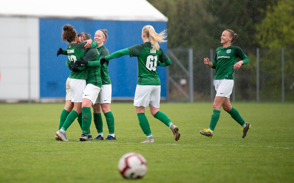 Tallinna FC Flora naiskond.