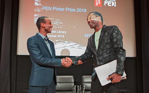 Befeqadu Hailu (vasakul) ja Lemn Sissay.
