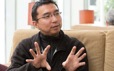 Jaapani arhitekt Sou Fujimoto 2014. aastal Tallinnas.