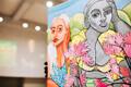 Аукцион работ молодых художников в Тарту.