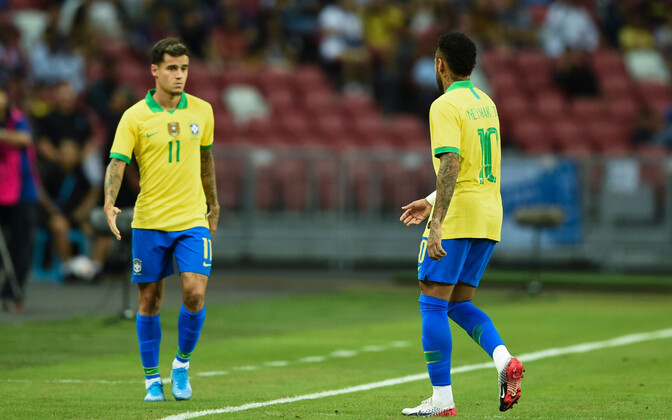 Philippe Coutinho ja Neymar