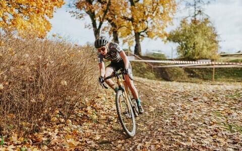 Mari-Liis Mõttus cyclo-crossi Eesti meistrivõistlustel