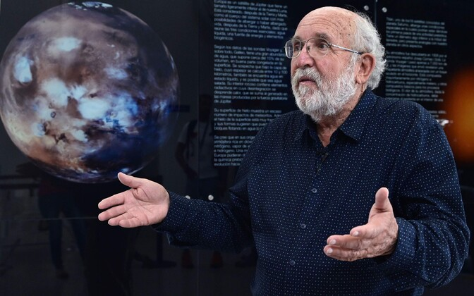 Käesoleval aastal Nobeli füüsikapreemia pälvinud Michel Mayor.