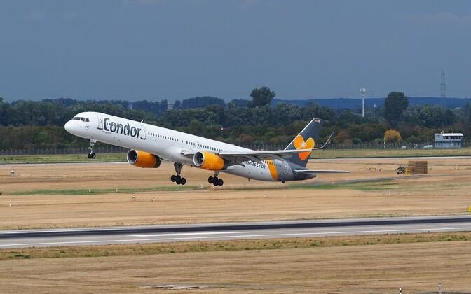 Самолет немецкой авиакомпании Condor.