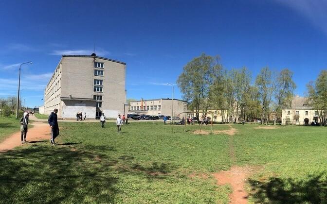Здание Силламяэской ваналиннаской школы.