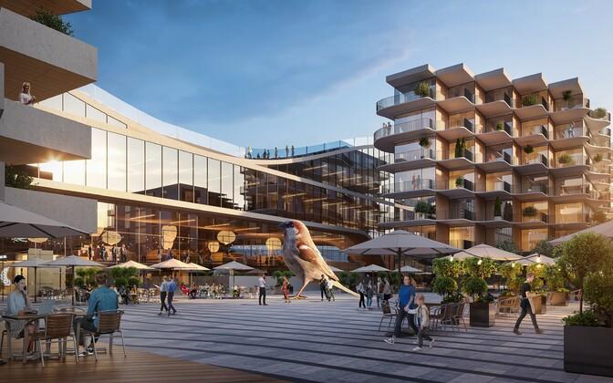 Проект будущего Центрального рынка архитекторов бюро КОКО.