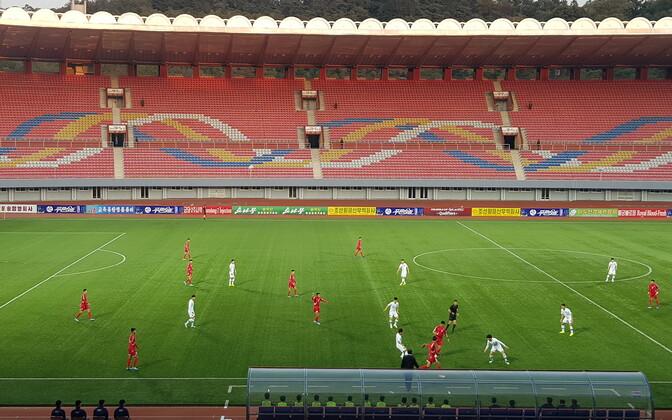 Põhja-Korea - Lõuna-Korea jalgpalli MM-valikmäng