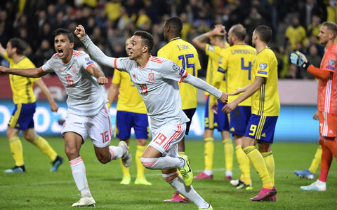Rodrigo värav tagas Hispaania koondisele koha EM-finaalturniiril