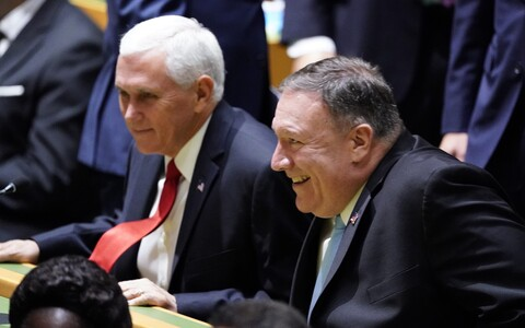 Mike Pence ja Mike Pompeo.