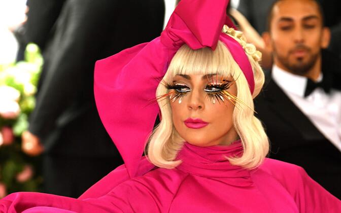 Lady Gaga üritusel Met Gala 2019.