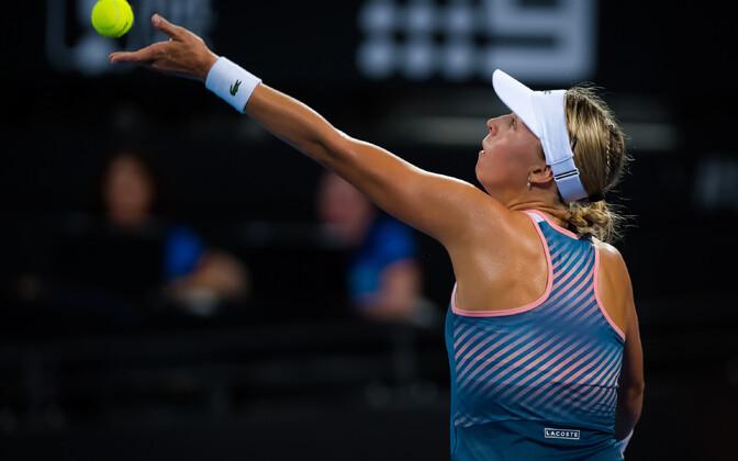 Anett Kontaveit 2019. aasta Brisbane'i WTA turniiril