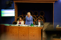 Kert Kingo, Riina Solman ja Jüri Ratas riigikogu infotunnis