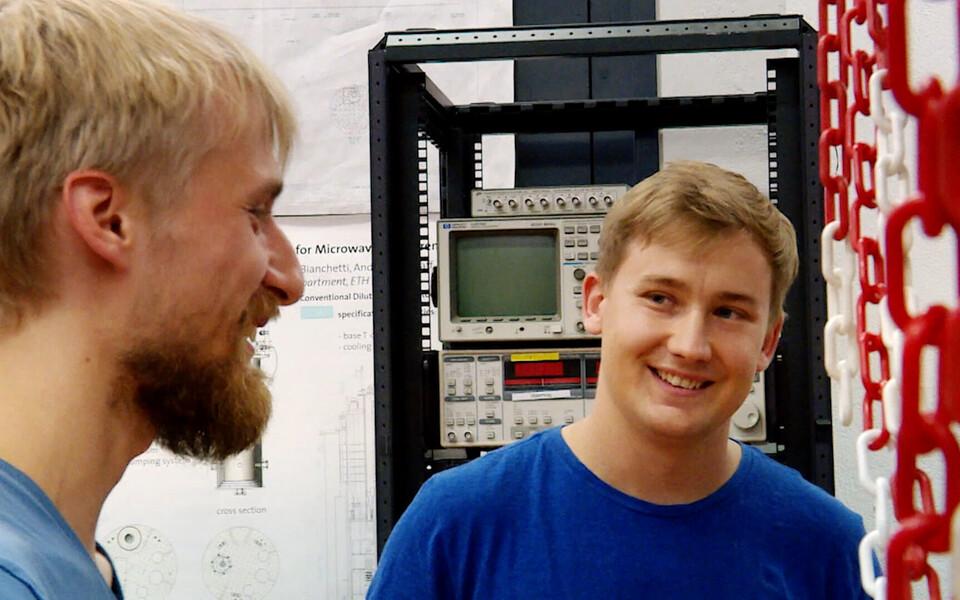 Ants Remm (vasakul) ja Roland Matt.