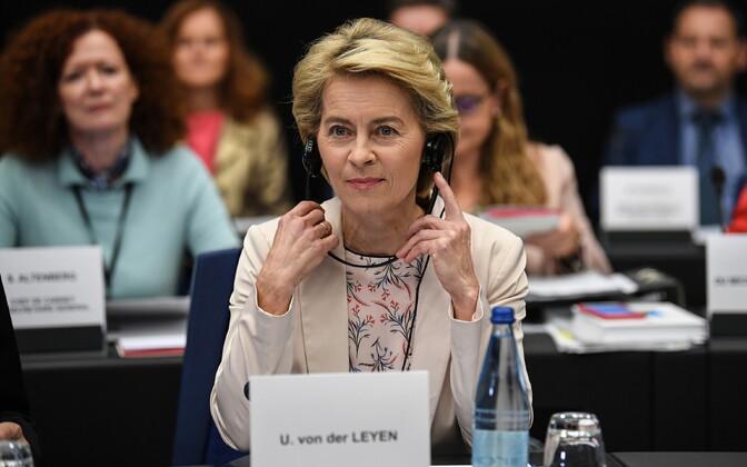 Euroopa Komisjoni tulevane president Ursula von der Leyen.