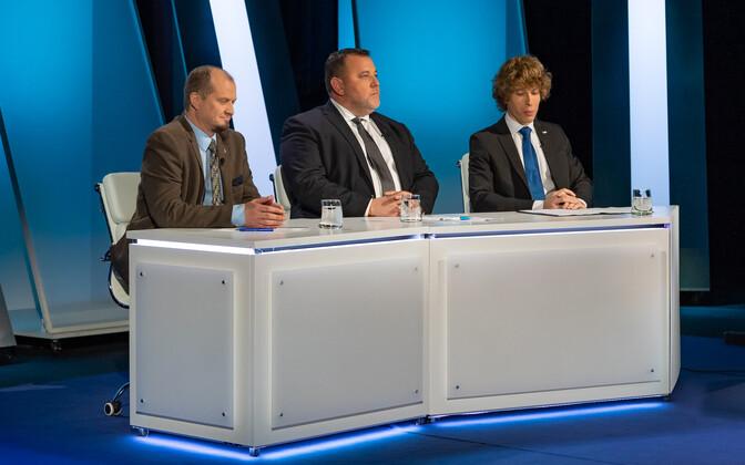 Anti Poolamets, Sven Sester ja Tanel Kiik