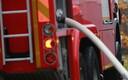 Tulekahju kustutamine Kopli tänaval
